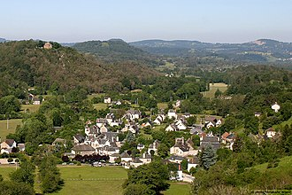 Antignac, Cantal - Antignac village