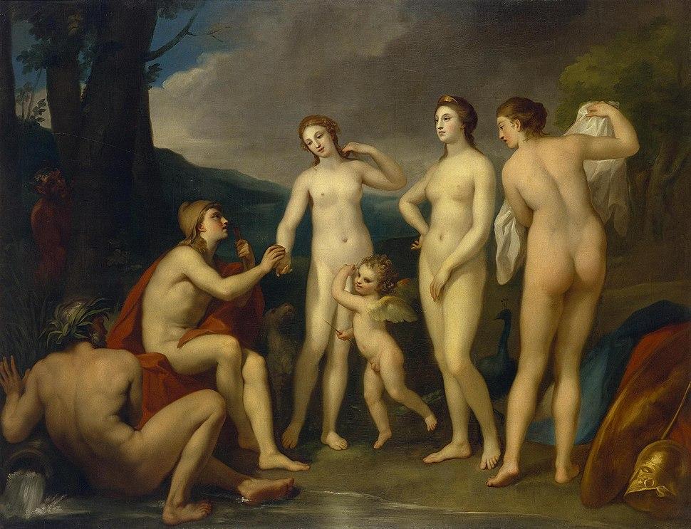Anton Raphael Mengs - Das Urteil des Paris (ca. 1757)