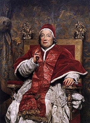 Papal conclave, 1769 - Clement XIII (portrait by Anton Raphael Mengs)