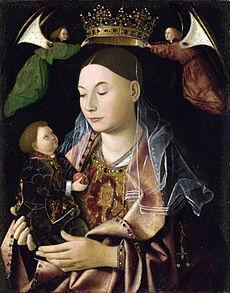 ANTONELLO da Messina Madonna with Child about 1460-1469