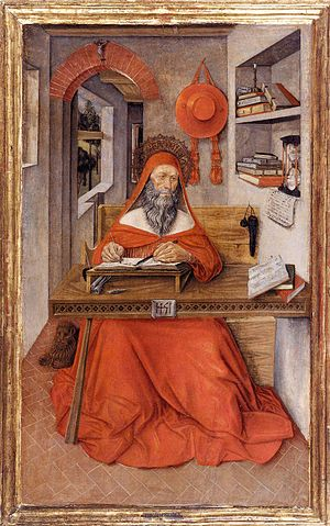 Antonio da Fabriano - St. Jerome in his study, 1451, now in the Walters Art Museum
