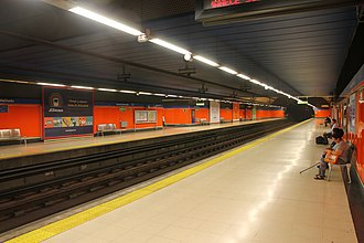 Antonio Machado (Madrid Metro) - Antonio Machado Station