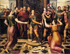 Antoon Claeissens - Image: Antoon Claeissens The Judgement of Solomon WGA04956