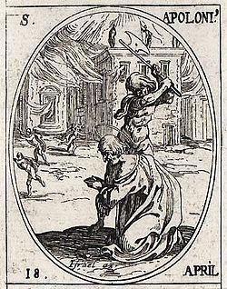 Szent Apollonius vértanú