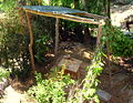 Arborloo construction in Cap-Haitien - 5 - Superstructure.jpg