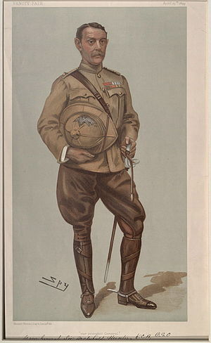 Archibald Hunter - Hunter caricatured by Spy for Vanity Fair, 1899