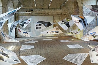 Architekturzentrum Wien - Part of an exhibition.