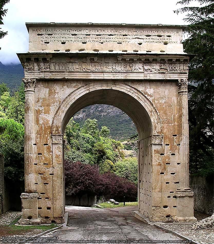 Arco di Augusto-Susa