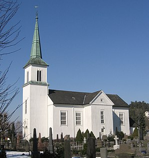 Hisøy Church - View of the church