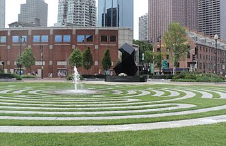 Armenian Americans - The Armenian Heritage Park in downtown Boston