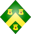 Arms of the Fitch family of Hornchurch on a Lozenge.png