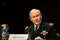 Army Gen. Martin E. Dempsey, chairman of the Joint Chiefs of Staff, testifies on the proposed budget for fiscal year 2016 before the Senate Armed Services Committee in Washington, D.C., March 3, 2015 150303-D-AF077-148.jpg
