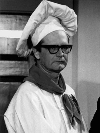 "Charles Nelson Reilly - Charles Nelson Reilly in his role as ""Randy Robinson"" on the CBS television series Arnie, 1971."