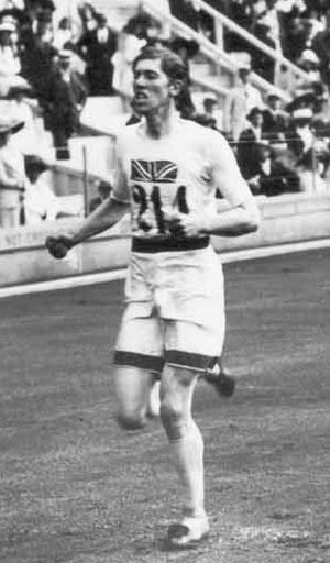 Arnold Jackson (British Army officer) - Jackson winning the 1500 m race at the 1912 Olympics