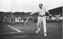 Photo d'Arthur Gore à Wimbledon en 1901