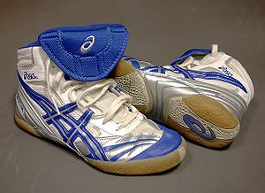 ASICS - Image: Asics wrestling shoes
