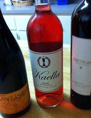 Washington wine - An assortment of Washington wines from Walla Walla and Red Mountain AVAs