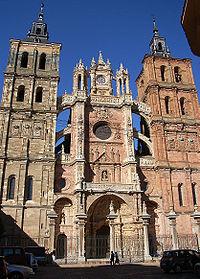 Astorga - Catedral, fachada.jpg