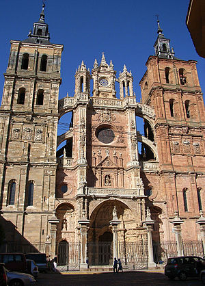 Astorga, Spain - Cathedral of Astorga.