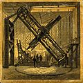 Astronomy; a large telescope, at Greenwich Observatory. Colo Wellcome V0024764.jpg