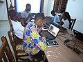 Atelier de rédaction d'article a Cotonou par les Wikimédiens du Bénin3.jpg