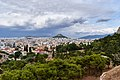 Athens and Mount Lycabettus from the Areopagus on July 16, 2019.jpg