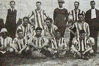 Club Atlético Atlanta - Atlanta in 1908.