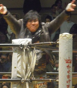 ZEN (professional wrestling) - The group leader and founder Atsushi Onita
