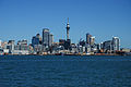 Auckland CBD as seen from the ferry from Devonport 20100408 1.jpg