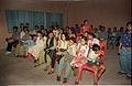 Audience - Audiovisual Show - Dinosaurs Alive Exhibition - Science City - Calcutta 1995-June-July 069.JPG