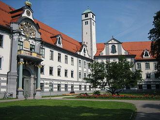 Swabia (Bavaria) - Regierung von Schwaben - Superior administration of Swabia (former Fürstbischöfliche Residenz) in Augsburg