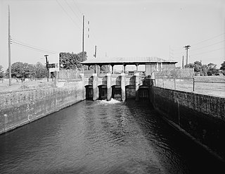 Augusta Canal United States historic place