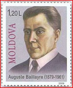Auguste Baillayre - Image: Auguste Baillayre (Stamp of Moldova 2009)
