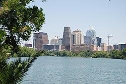 Skyline of City of Austin