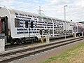 Austria (Österreich), Köflach, A-GKB 50 81 26-29 104-8 pályaszámú, Bmp-dl típusú emeletes személykocsija, 9990.JPG