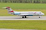 Austrian Airlines, OE-LFJ, Fokker F70 (22670693849).jpg