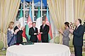Award ceremony was held as part of Italian President's official visit to Azerbaijan 6.jpg