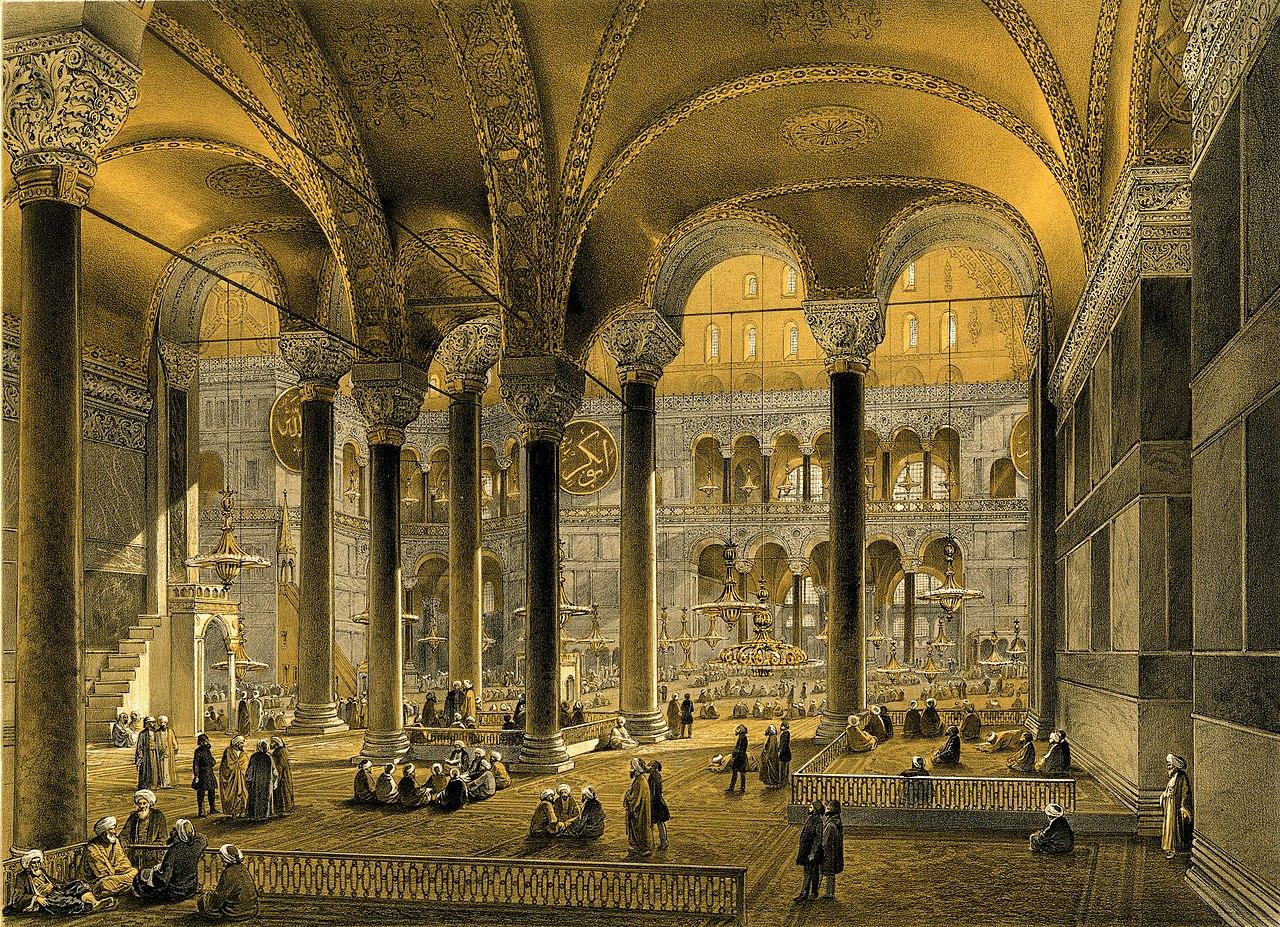 Aya Sofia, Constantinople (BM 1889,0603.122).jpg