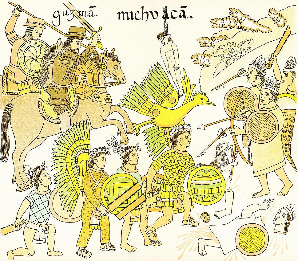 Aztec Indians Mexico Tlaxcalan Cortez