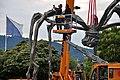Bürkliplatz - Demontage 'Maman' 2011-07-28 20-25-56.JPG