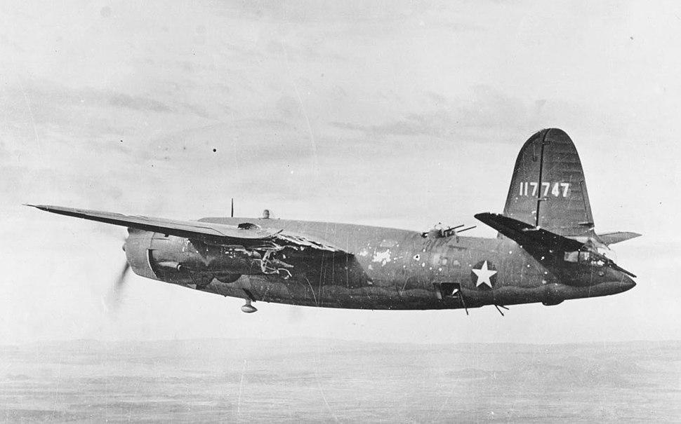 B-26B Flak Damage