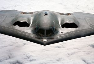 Radar cross-section - The B-2 Spirit was one of the first aircraft to successfully become 'invisible' to radar.