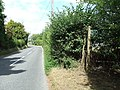 B1066 And Footpath - geograph.org.uk - 1470438.jpg