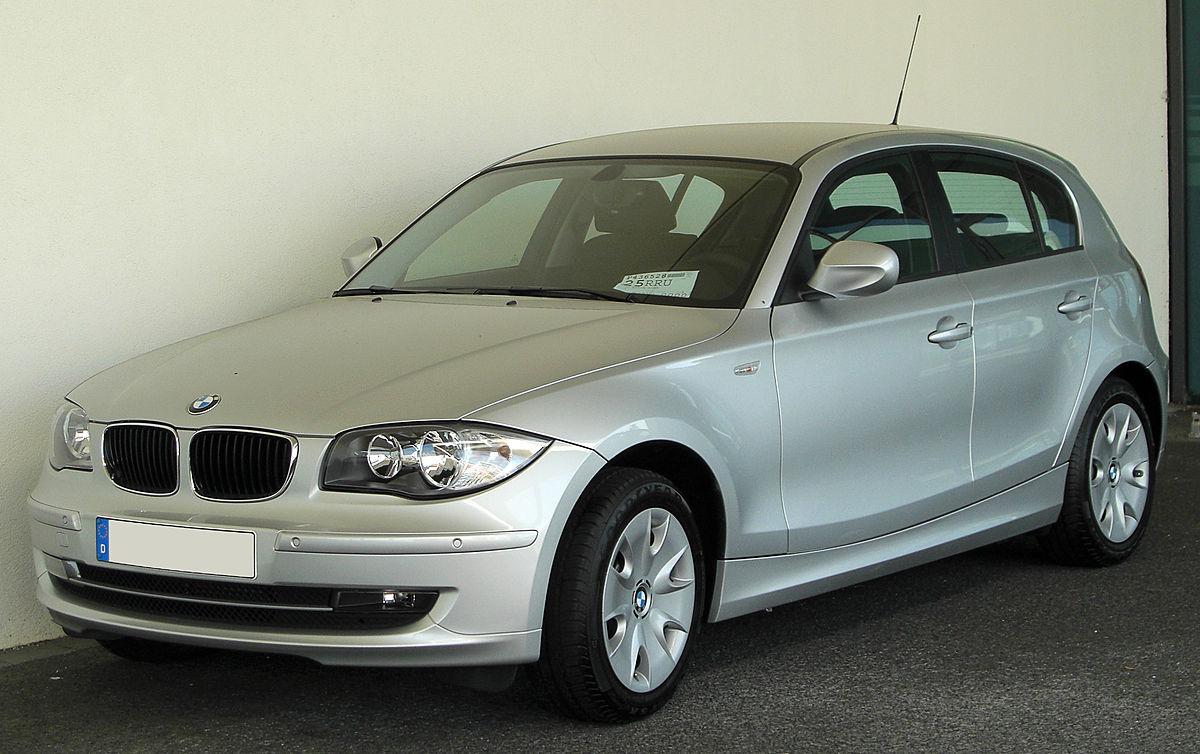 Datei:BMW 1er (E87) Facelift front 20100718.jpg - Wikipedia