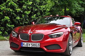BMW Z4 (E89) - Zagato Coupé at the 2012 Concorso d'Eleganza.