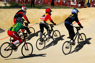BMX racing - BMX 2008 Nationals held in the Christchurch suburb of Bexley