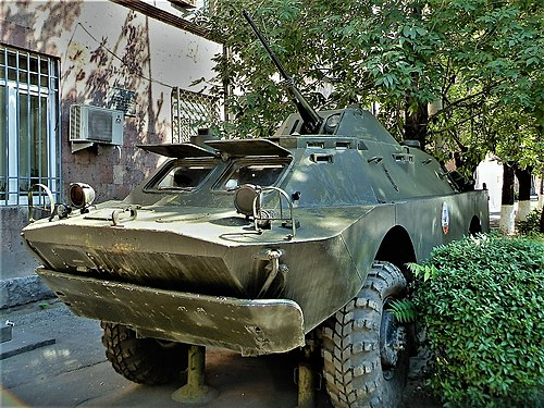 BRDM-2 near DOSAAF building in Yerevan (2).jpg