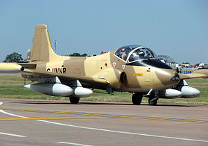 British Aircraft Corporation - A privately owned BAC Strikemaster.