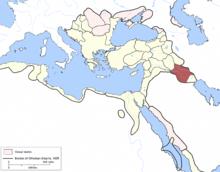 Bagdad Eyalet, Osmanisches Reich (1609) .png