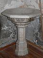 Bagnères-de-Luchon chapelle Barcugnas bénitier.JPG